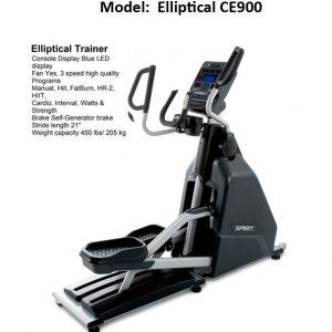 Spirit CE 900 elliptical cross trainer commercial