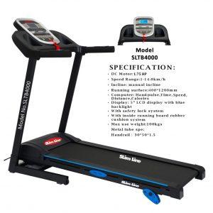 slimine SLTB 4000 1.5 hp treadmill
