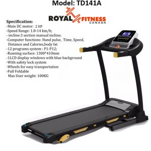 Royal Fitness 141 A treadmill